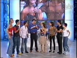 Domingão do Faustão - Sandy e Junior [Globo, 2002]