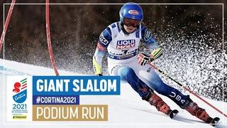 Mikaela Shiffrin   Silver   Women's Giant Slalom   2021 FIS World Alpine Ski Championships