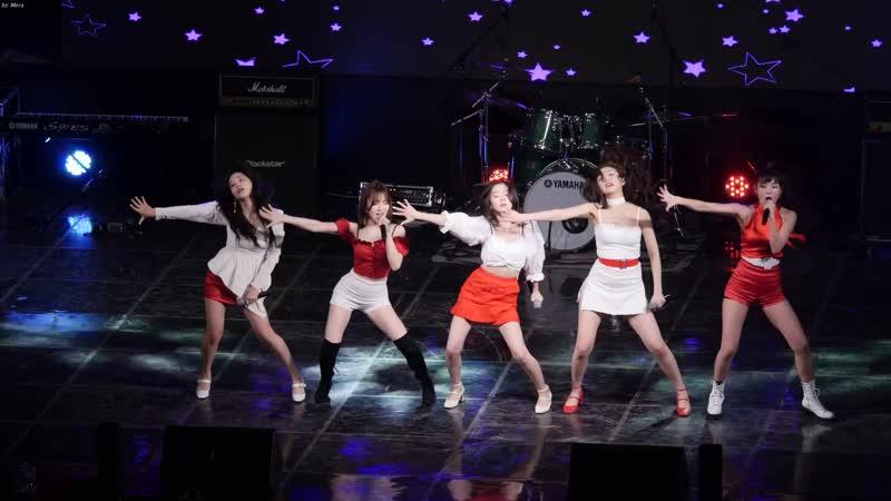 190515 Hongik Seoul Campus Fest  Red Velvet - RBB (Really Bad Boy) [Fancam]