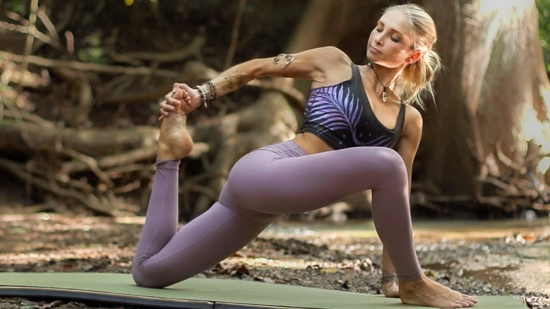 Yoga For Tight Sore Muscles 20 Minute Yoga For Hips Calves Hamstrings
