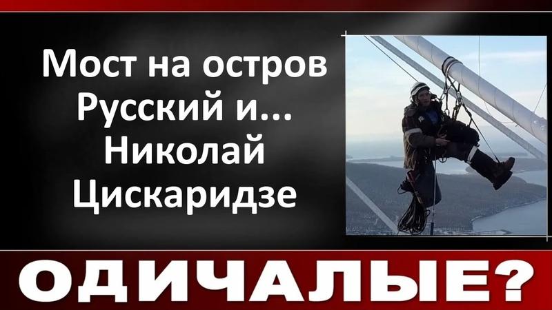 Мост на остров Русский и Николай Цискаридзе