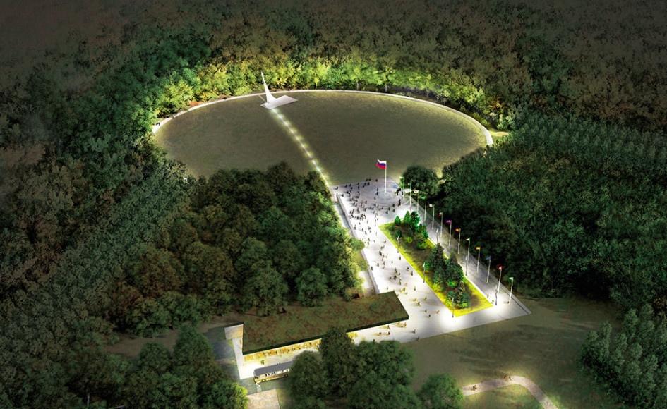Парк покорителей космоса откроется ровно через месяц