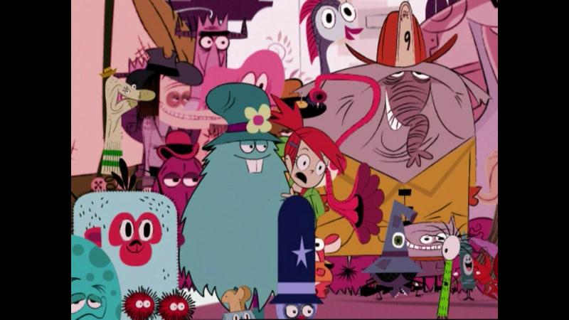 Фостер Дом для друзей из мира фантазий 1сезон 2 серия 2004