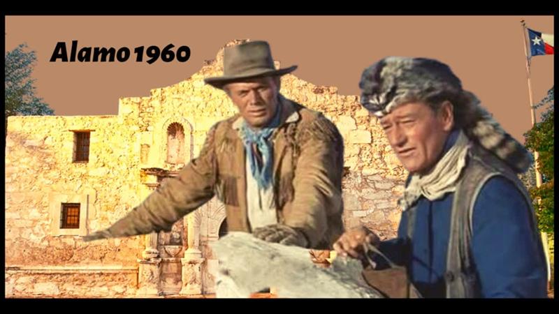 Alamo aus dem Jahre 1960 mit John Wayne und Richard Widmark (Westernklassiker in deusch)