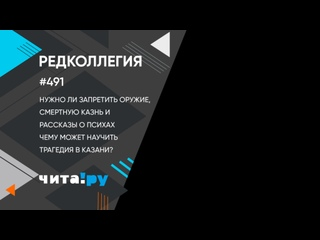 Колумбайн в Казани - надо ли запрещать оружие и интернет, а также вводить смертную казнь