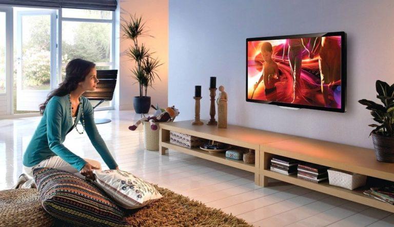 Установка телевизора на стену своими руками.