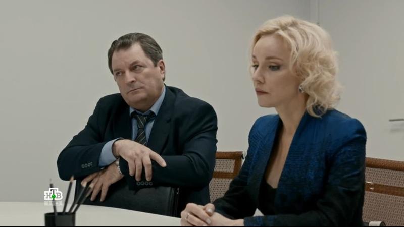 С Мариной Зудиной Сцена из Хорошая жена реж Станислав Либин 2018г