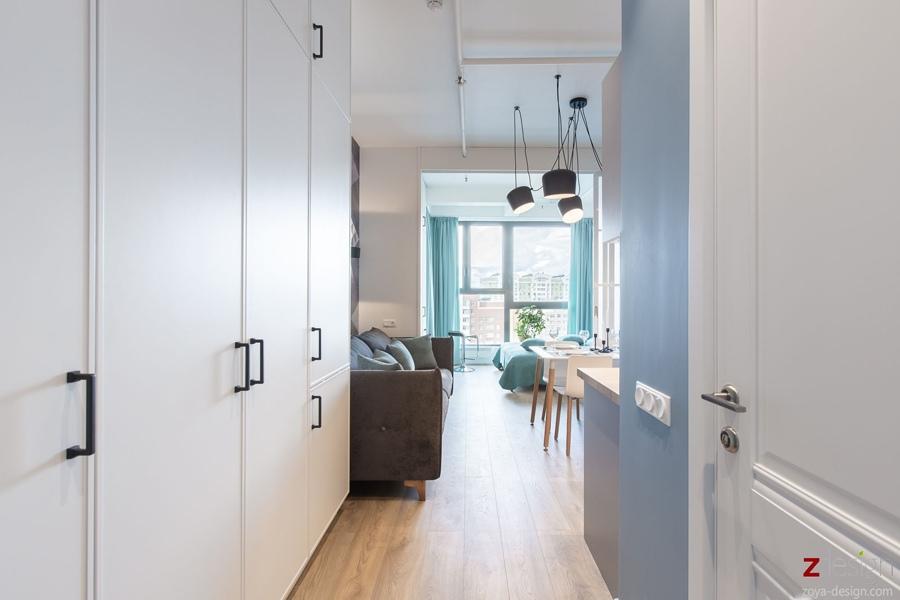 Интерьер квартиры 32 кв.