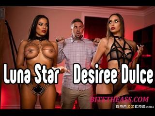 Desiree Dulce, Luna Star ЖМЖ порно В красивом белье [Трах, all sex, porn, big tits , Milf, инцест, порно blowjob brazzers