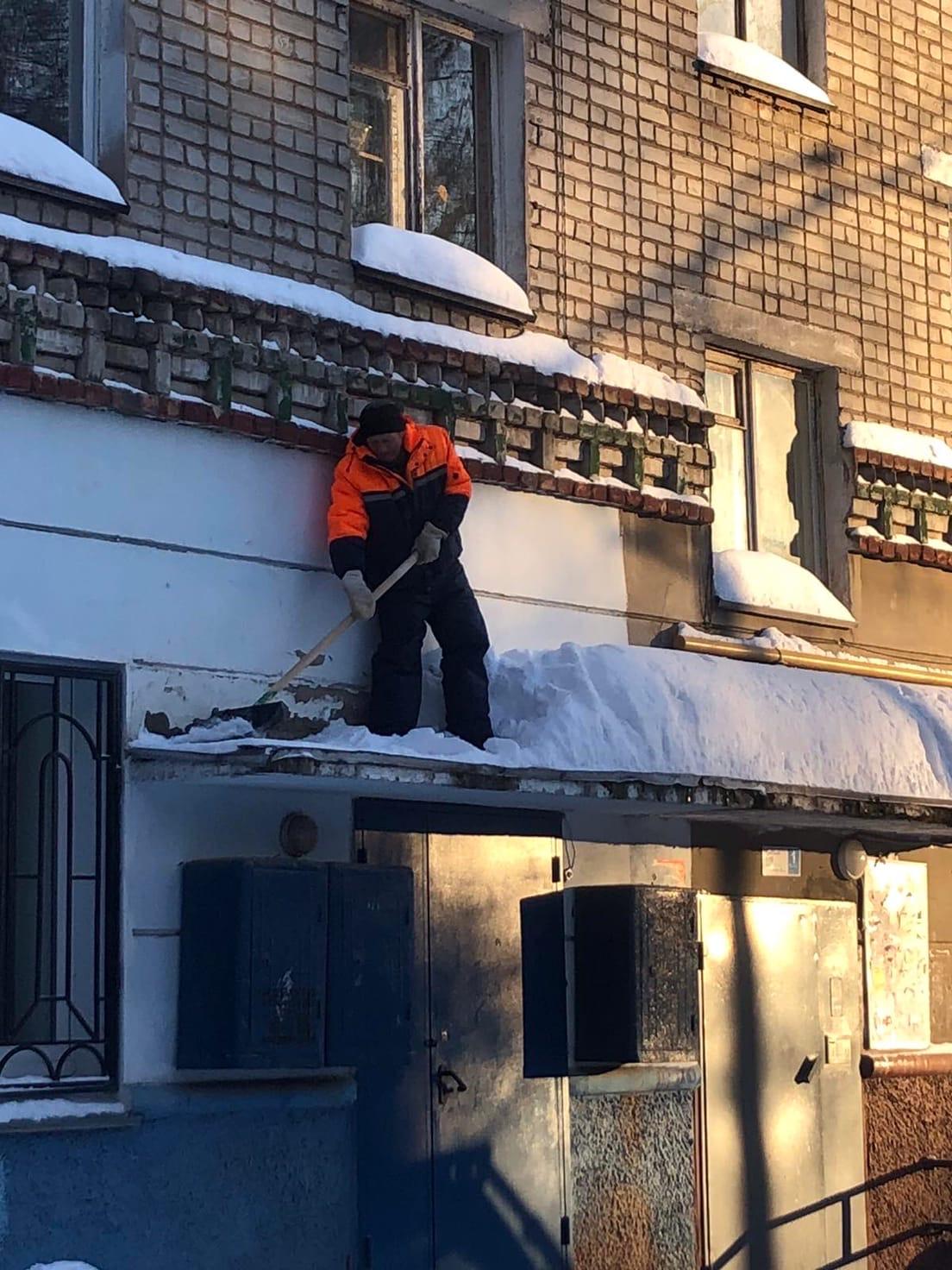 Улица Добролюбова дом 21 механизированная уборка и