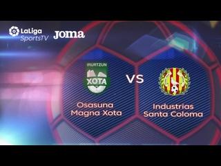 Osasuna Magna Xota - Industrias Santa Coloma Jornada 17 Temp 20 21