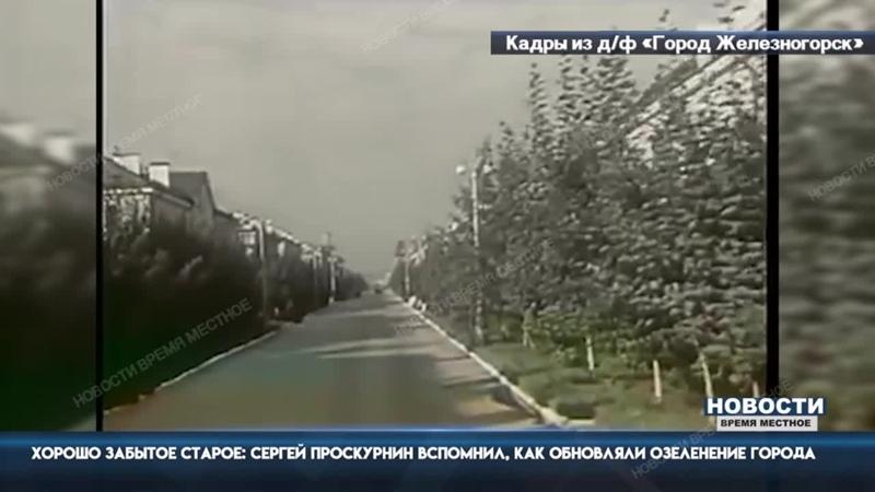Хорошо забытое старое: Сергей Проскурнин вспомнил, как обновляли озеленение города