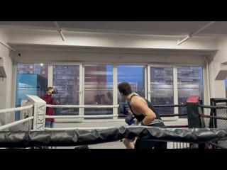Выступление по боксу