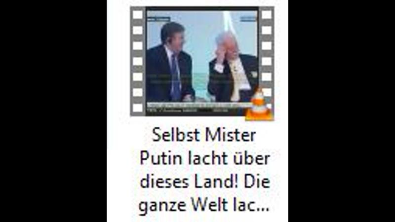 Selbst Mister Putin lacht über dieses Land Die ganze Welt lacht ueber Deutsch