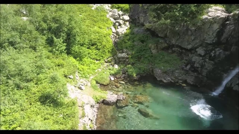 Купание в Санчарских водопадах Экспедиция Перезагрузка