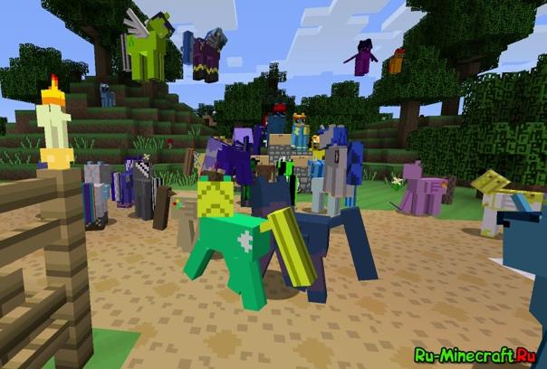 моды на майнкрафт 1.7.10 на май литл пони #8