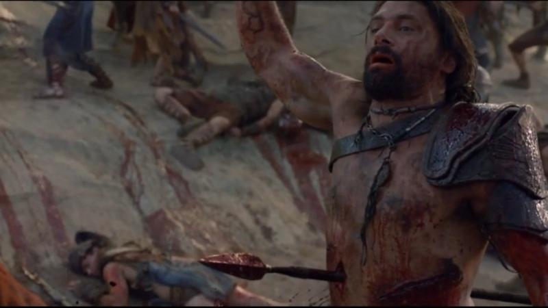 Спартак Война проклятых Последний бой Крикса