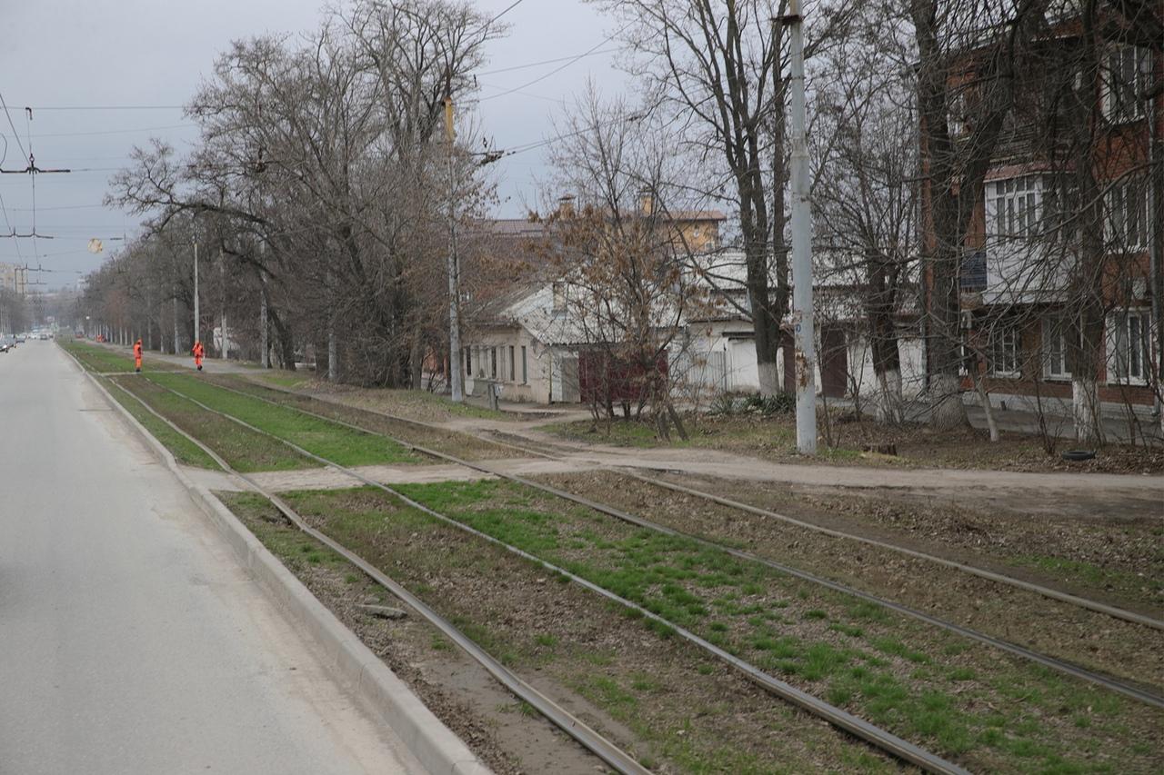 С 10 апреля в Таганроге движение трамваев по улице Ленина из-за ремонта будет прекращено