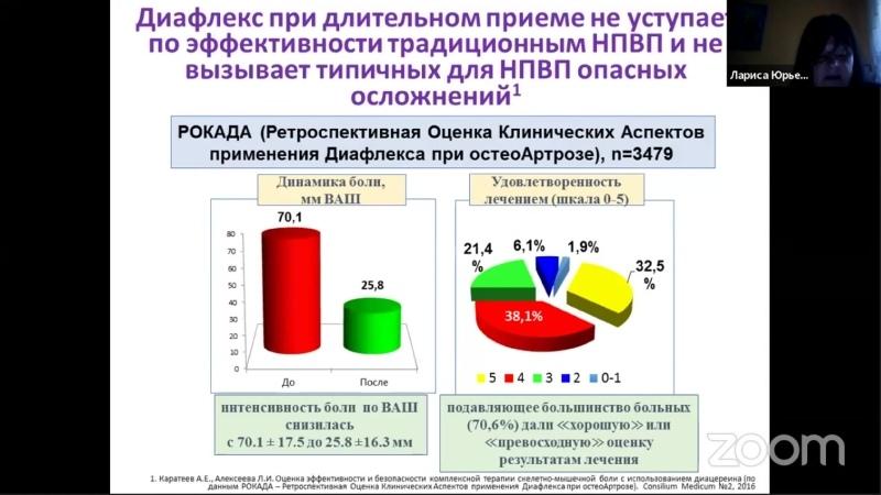 Современный подход к фенотипированию и лечению остеоартрита Широкова Л Ю
