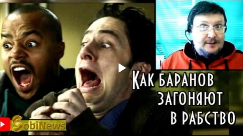 Почему в основе ковидного рабства лежит трусость Новости SobiNews с Василием Миколенко