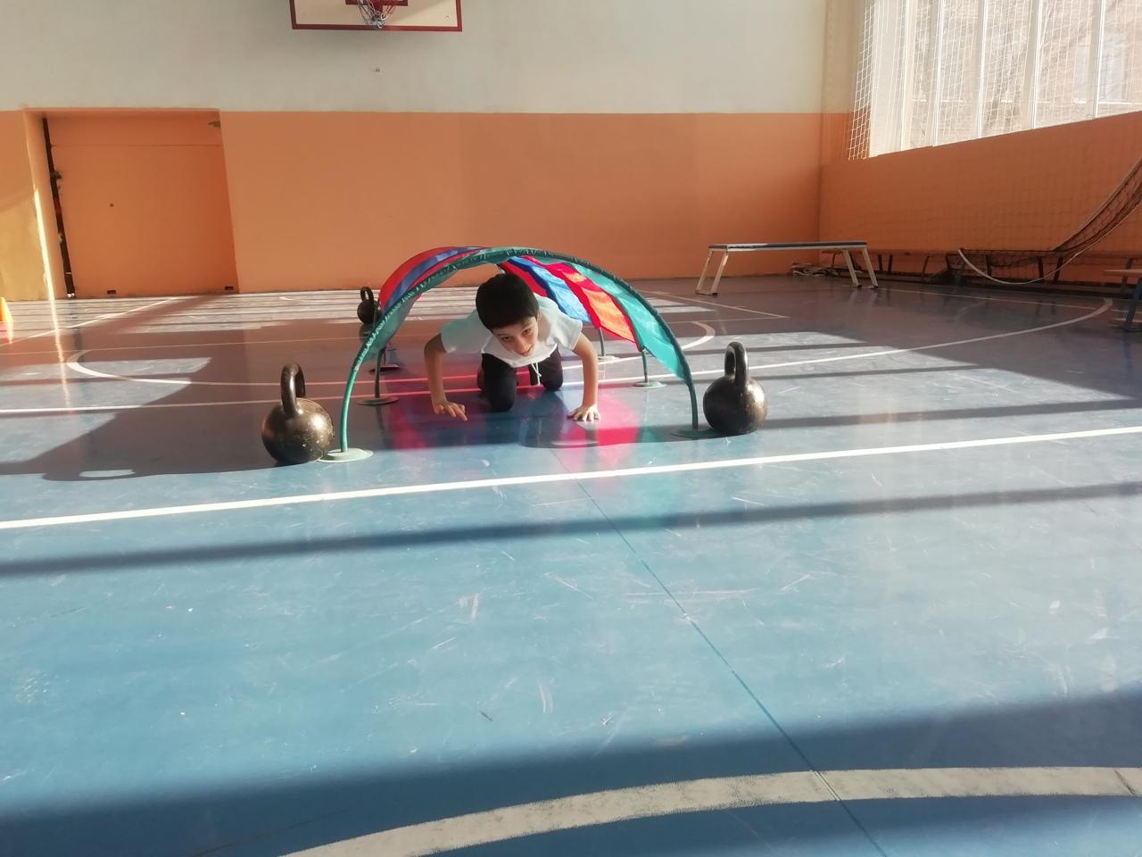 В Лицее прошел спортивный конкурс «Тропа испытаний» среди обучающихся 2-х классов