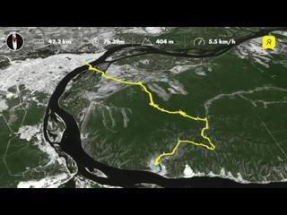 Самара место в котором я живу-поход в ширяево трек на лыжах