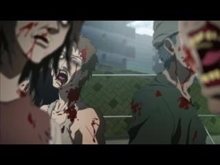 [Akai-Sora]Highschool of the Dead - 08