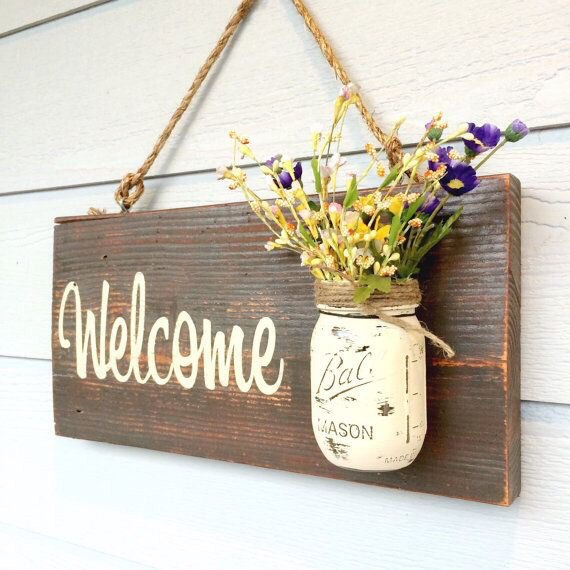 welcome signs diy - 570×570