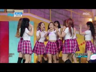 Pristin - We Like @ (Music Core 170826)