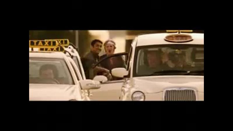 Когда пути пересеклись хорошее настроение юмор смешное видео отрывок из фильма такси таксист пассажиры муж и жена