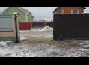 Изготовление и установка откатных ворот с автоматикой Alutech, 1-й Цветочный пер.