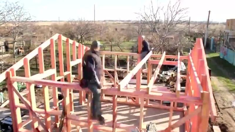 Строим каркасный дом - Проект « Дача »