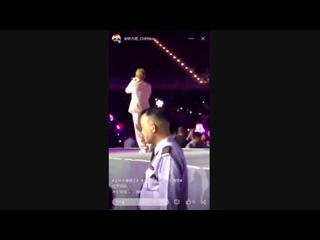 [VIDEO] 181124 EXO-CBX - Sweet Dreams (Chen Focus) @ K-Concert in Macau
