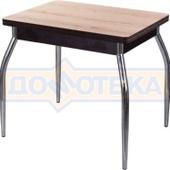 Кухонный стол из ЛДСП Дрезден М-2 ДС/ВН (Дуб светлый) 01