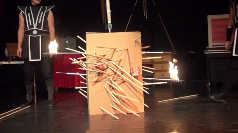 Renki Blade Paper Box Illusion