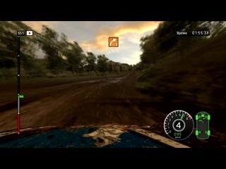 WRC #4 Испытание на мокрой дороге - Rally Japan, Nikara 2
