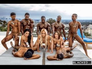 Teanna Trump, Vicki Chase & Adriana Chechik - ГОРЯЧИЕ СУЧКИ [Anal, Hardcore, Interracial, DP, Latina,Milf,Small Tits,Ebony]