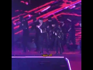 [FANCAM:PERF] 191204 GOT7 - Crash & Burn (Jinyoung focus) @ «Mnet Asian Music Awards 2019».