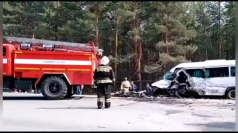 Причиной ДТП с 5 погибшими в Курганской области по предварительным данным стал выезд легковушки на встречную полосу движения