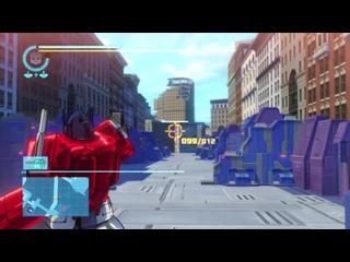 моё личные прохождение игры PC на геймпаде часть 1 transformers G1 Transformers devastation  Трансформеры первое поколение
