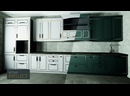 Простой способ сменить фасады в дизайн-проекте кухни 2 варианта за 2 минуты Эмаль с патиной