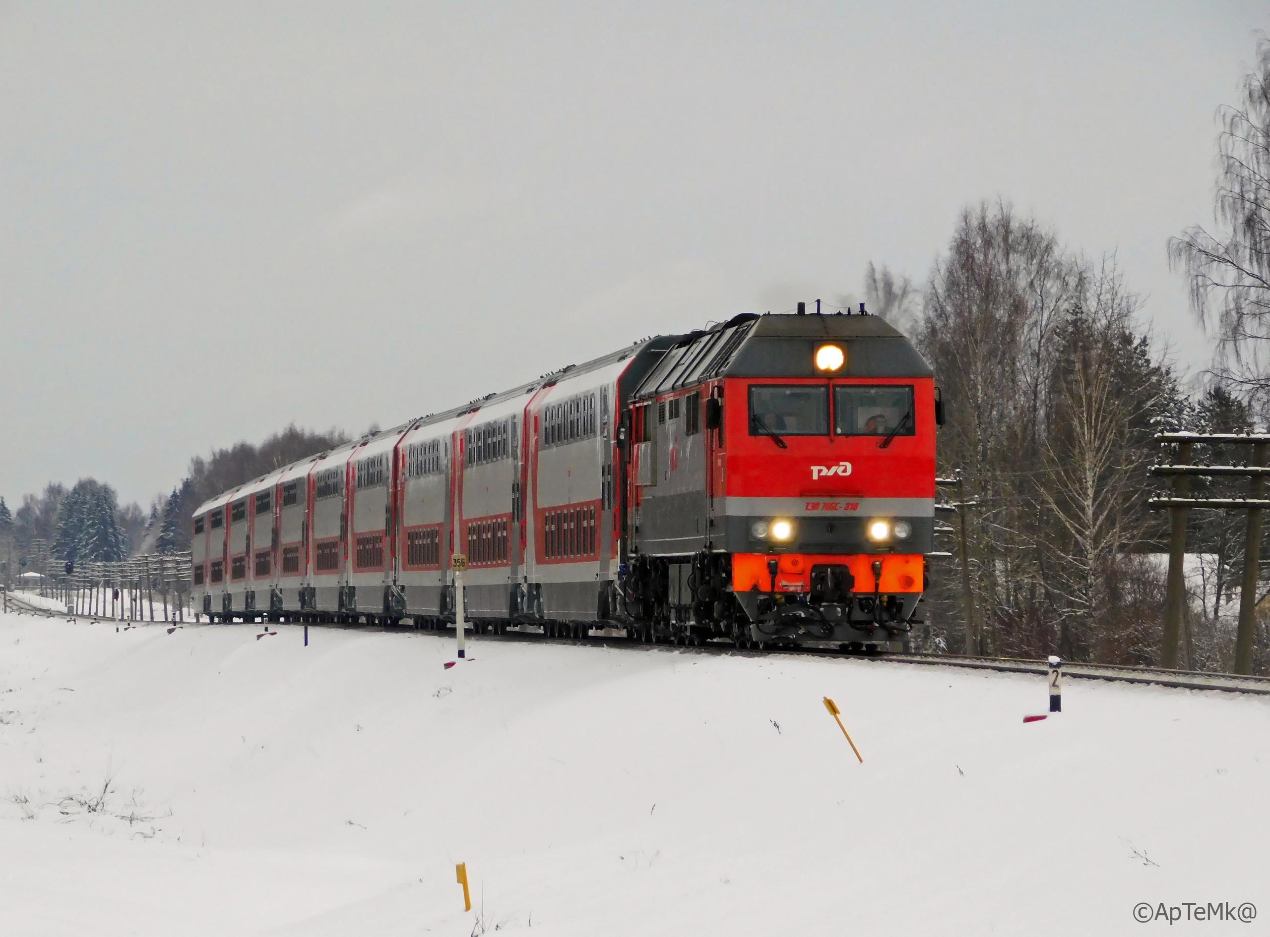 Двухэтажный поезд № 153Я/154Я