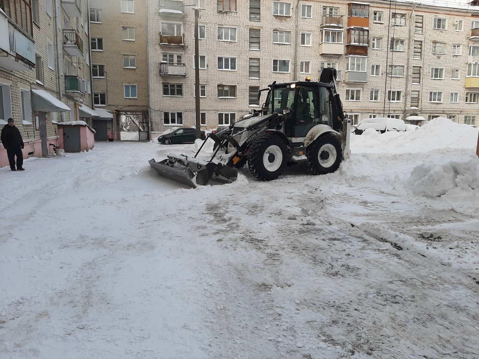 Октябрьский проспект дом 34 механизированная уборка