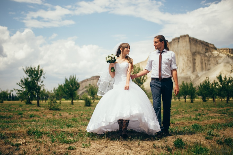 Свадебная съемка в Симферополе - Фотограф MaryVish.ru