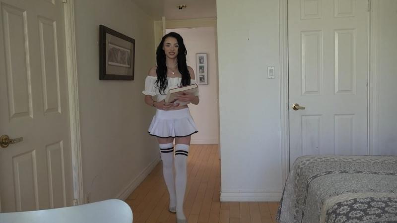 Cecelia Taylor - ATKGirlfriends - Schoolgirl POV ## brunette teen uniform stockings blowjob sex porn creampie