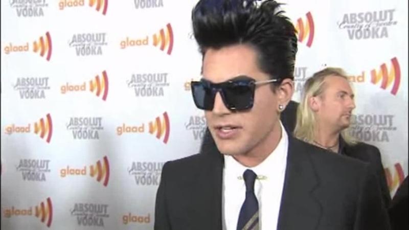 2010-04-17 OnTheRedCarpet.com - GLAAD Awards - Adam Lambert and Benjamin Bratt Rally For Equal Rights