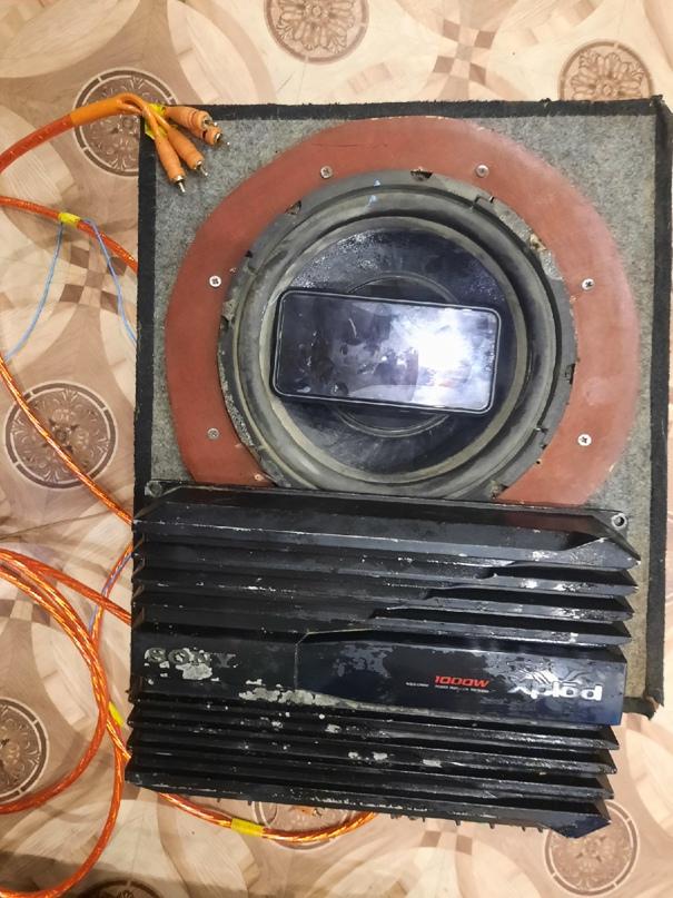 Купить саб с усилком и проводами цена 2700 | Объявления Орска и Новотроицка №16671