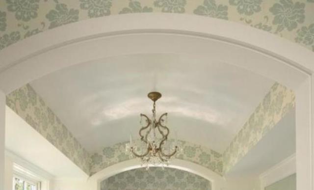 В каких помещениях нельзя делать арочный потолок?