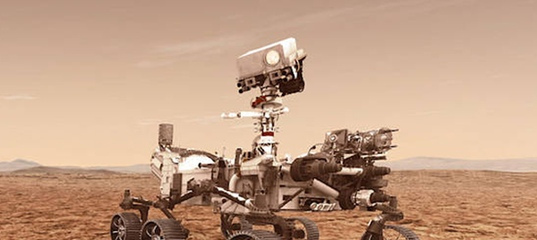 Марсоход НАСА совершил посадку на Красную планету