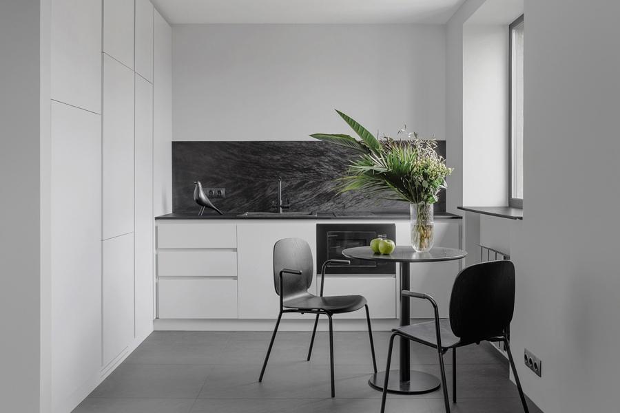 Перепланировка однокомнатной квартиры в студию 40 кв.